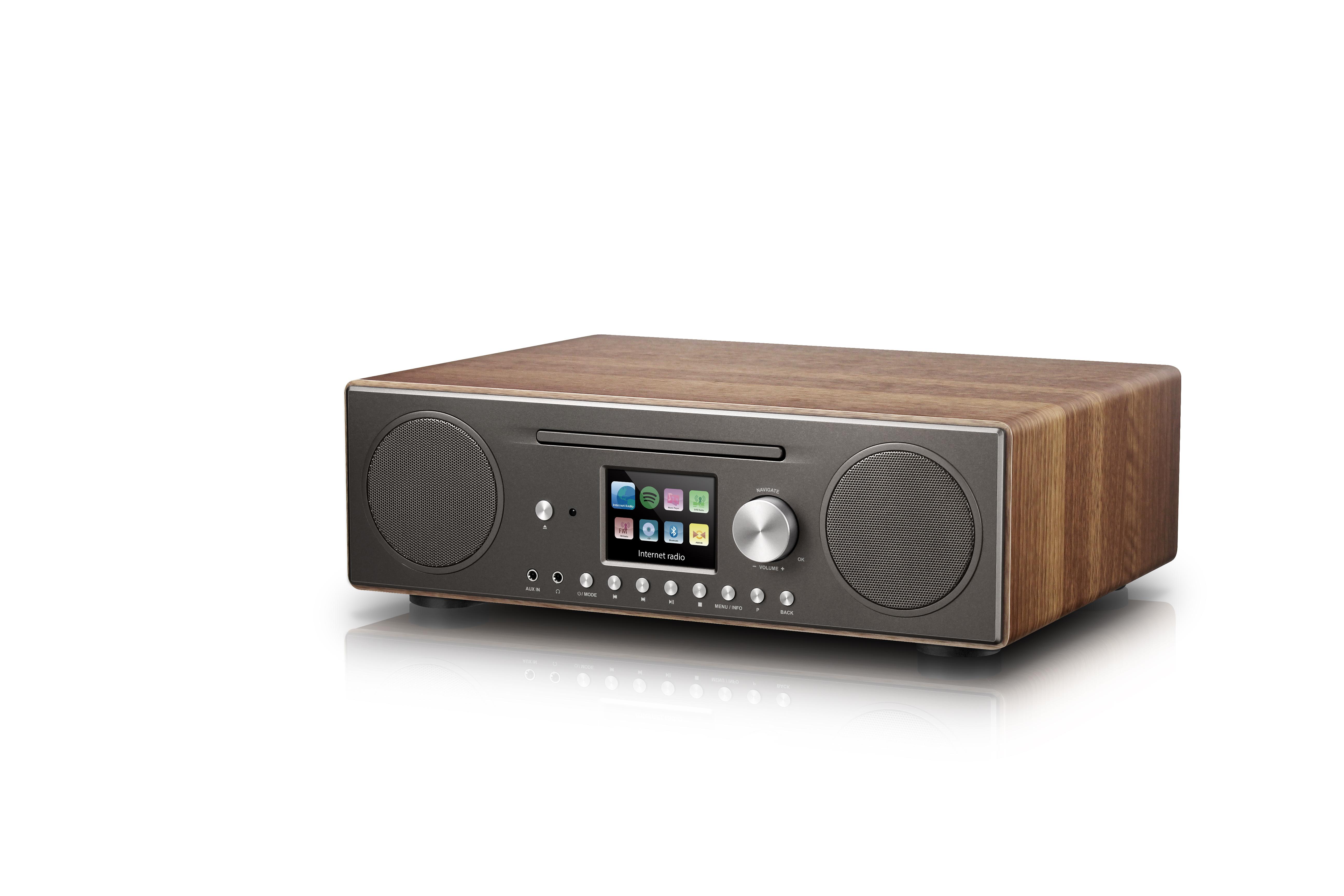 PTEC Titlis DAB+ // BT // CD Microsystem USB MP3 WMA AUX